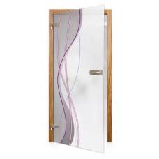 Obložková zárubeň pro celoskleněné dveře