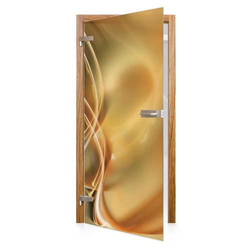 Celoskleněné otočné dveře matné Splendore