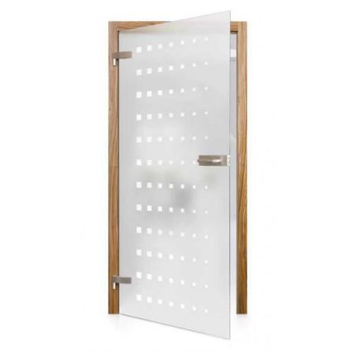 Celoskleněné otočné dveře matné Forza