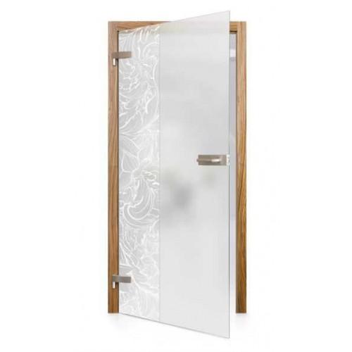 Celoskleněné otočné dveře matné Primavera