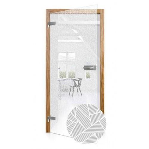 Celoskleněné otočné dveře čiré Tecnico
