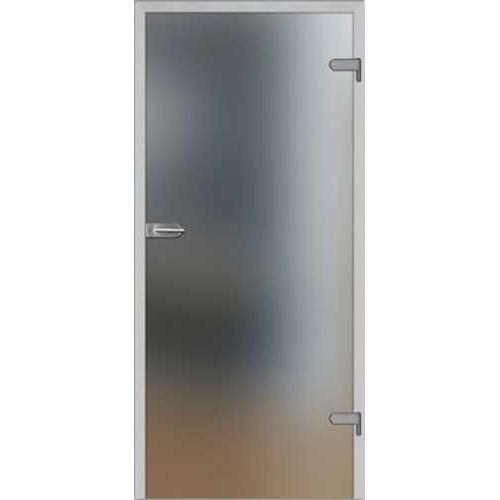Celoskleněné otočné dveře matné SATINATO