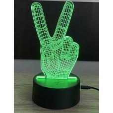 3D stolní lampa DD-027