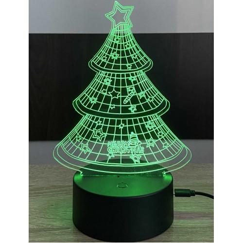 3D stolní lampa DD-042