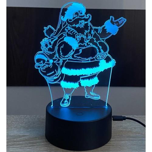 3D stolní lampa DD-059