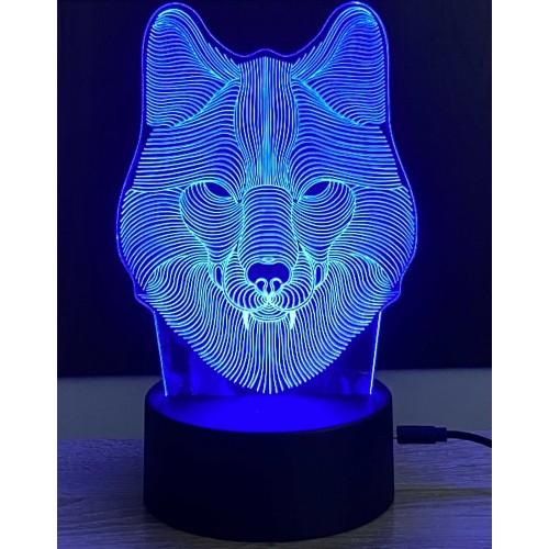 3D stolní lampa DD-067