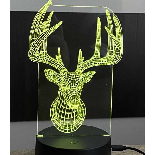 3D stolní lampa DD-080