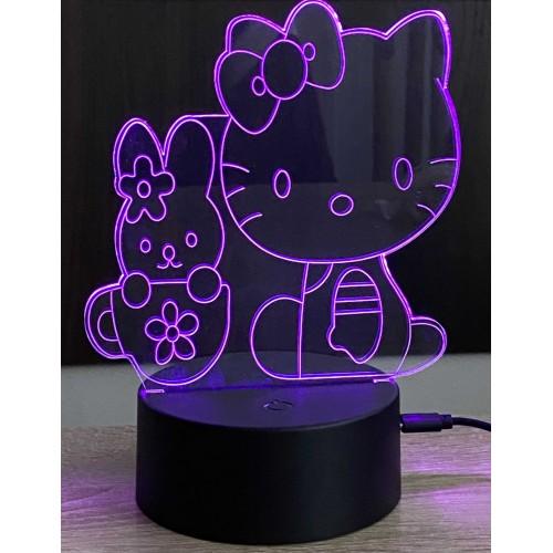 3D stolní lampa DD-082