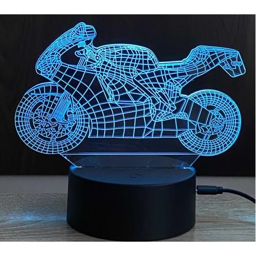 3D stolní lampa DD-085
