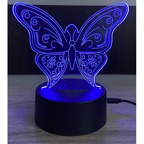 3D stolní lampa DD-111