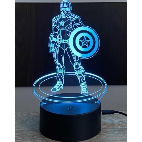 3D stolní lampa DD-116