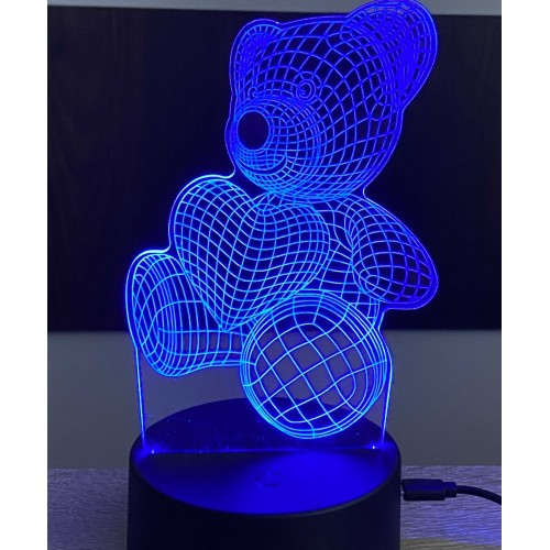 3D stolní lampa DD-131