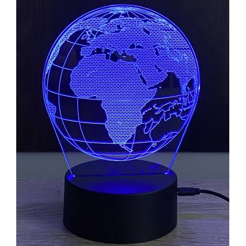 3D stolní lampa DD-134