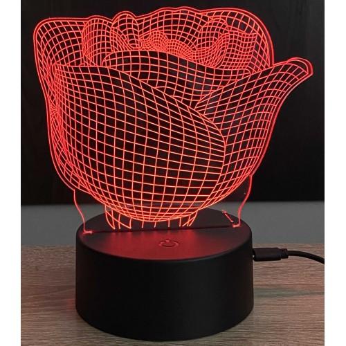 3D stolní lampa DD-144