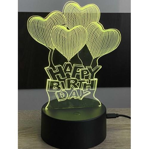 3D stolní lampa DD-160
