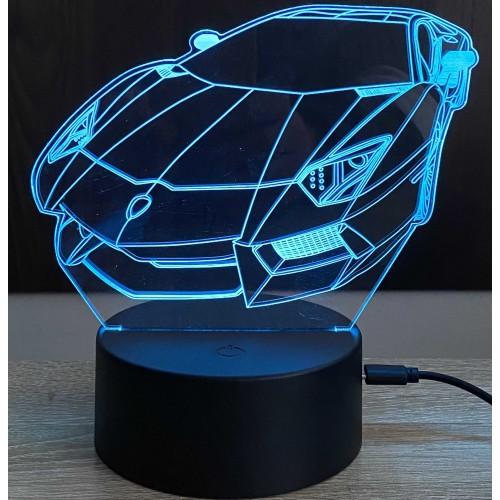 3D stolní lampa DD-175