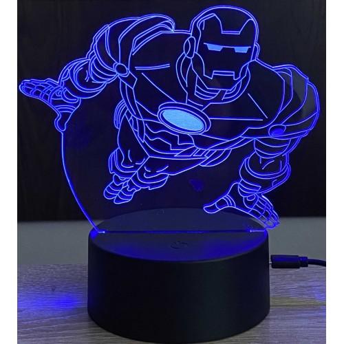 3D stolní lampa DD-183