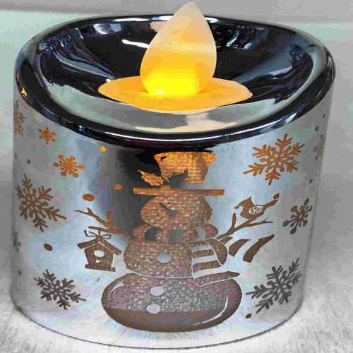 Kouzelná svíčka stříbrná