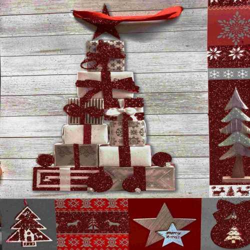 Vánoční taška s dekorem motiv Gift 2