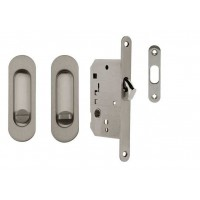 Set na posuvné dveře Valcomp Oválný WC zámek