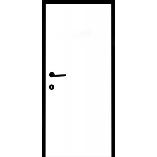 Akční sada Black and White dveří a zárubní