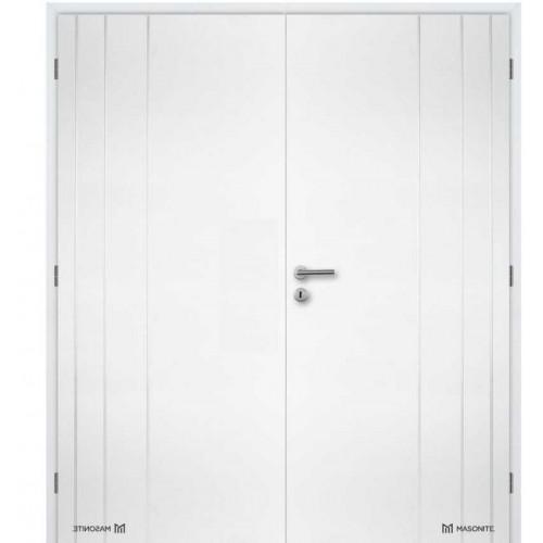 Dvoukřídlé interiérové dveře Masonite - Bordeaux plné