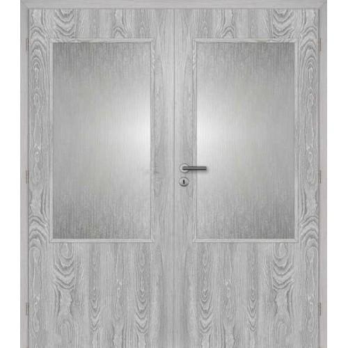 Dvoukřídlé interiérové dveře Masonite - Prosklenné 2/3