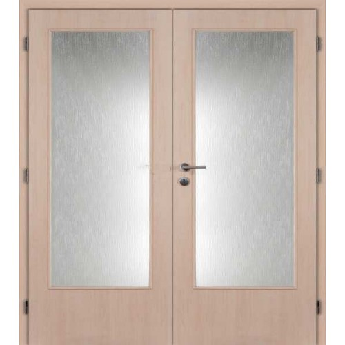 Dvoukřídlé interiérové dveře Masonite - Prosklenné 3/4