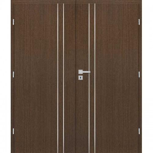 Dvoukřídlé interiérové dveře Masonite - ALU