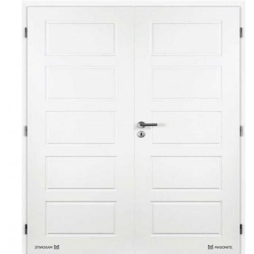 Dvoukřídlé interiérové dveře Masonite - Oregon plné