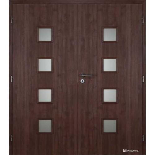 Dvoukřídlé interiérové dveře Masonite - Quadra