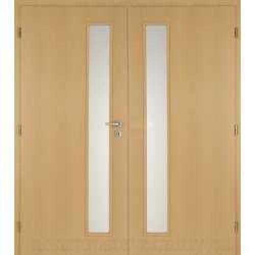 Dvoukřídlé interiérové dveře Masonite - Vertika