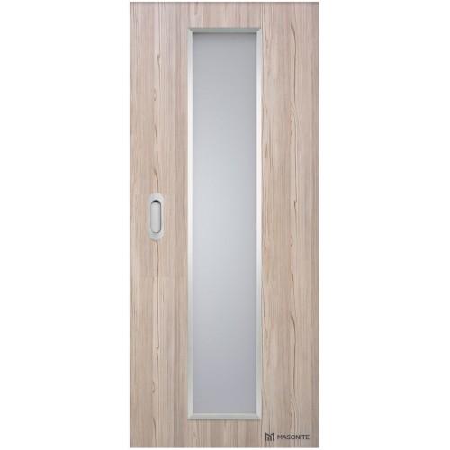 Posuvné dveře do pouzdra Masonite - Linea ALU
