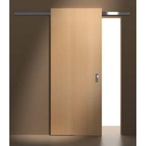 ALU posuvný systém MASONITE vč plných hladkých dveří CPL