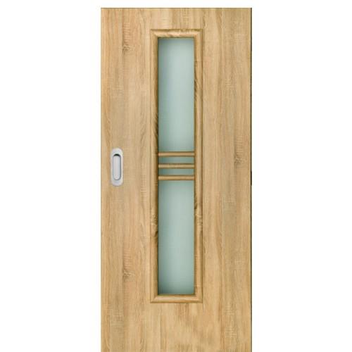 Posuvné dveře do pouzdra Masonite - Stripe