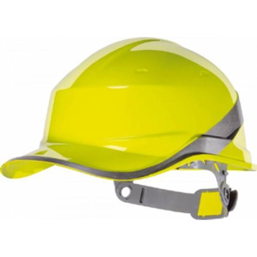 Ochranná přilba, reflexní žlutá BASEBALL DIAMOND V