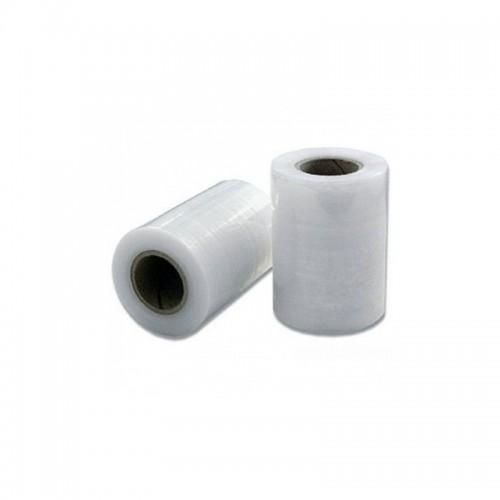 Průtažná stretch fólie šíře 100 mm - granát