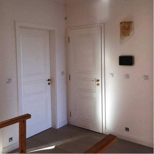 Falcové deskové dveře