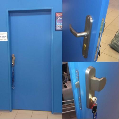 Dveře s nástřikem RAL
