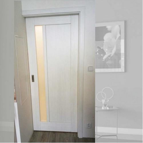 Rámové posuvné dveře do pouzdra