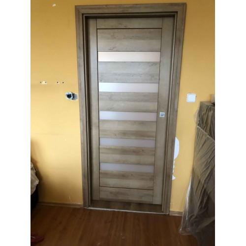 Posuvné dveře do pouzdra rámové Vasco