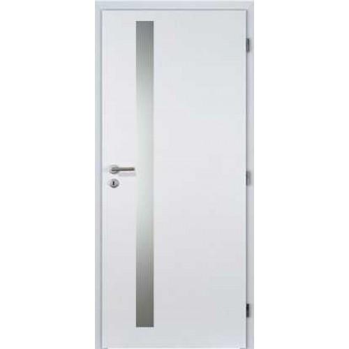 Interiérové dveře Vertika 3/3 60L/197 Bílý CPL SKLADEM