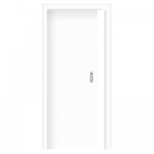 Posuvné dveře do pouzdra skladem Plné hladké Bílý