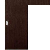 Posuvné dveře na stěnu skladem Plné hladké Wenge 60/197