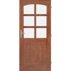 Dřevěné smrkové dveře Iva